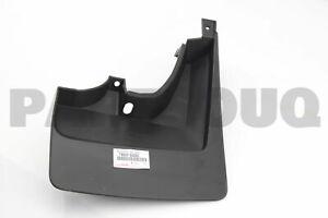 7660860280 Genuine Toyota MUDGUARD SUB-ASSY, QUARTER PANEL, REAR LH 76608-60280