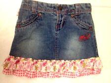 Winx club - Gonna di Jeans - colore denim con gala a fiori -taglia 6 anni  USATA