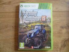 Farming Simulator 15 Xbox 360 UK PAL **FREE UK POSTAGE**