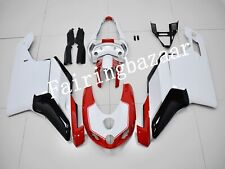 Fit for Ducati 749 2005 2006 White Red Silver ABS Injection Mold Fairing Kit