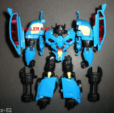 TRANSFORMERS Decepticon RUMBLE blue CAR robot FIGURE toy Soundwave Sidekick