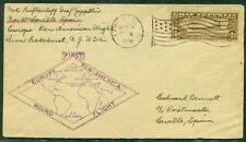 UNITED STATES, 1930, $1.30 Zeppelin (C14) tied on cover to SPAIN (bkstp), VF,