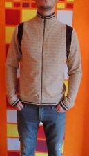 H&M Jacke Winter Herbst Pullover Gr. M wie NEU RAR Design Beige Velours Plüsch