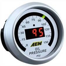 AEM Oil Pressure Gauge 0 to 150 PSI  p/n: 30-4407