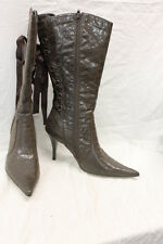 Roberto Vianni Tall Heel Boots Women's Size 6.5 EXCELLENT Used Condition 1082
