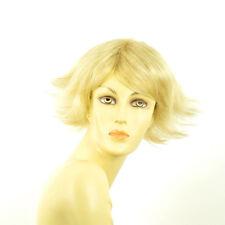 Perruque femme courte blond doré méché blond très clair  LOUNA 24BT613
