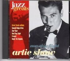 (CA145) Artie Shaw, Non-Stop Flight - 1996 Jazz Greats CD No 016