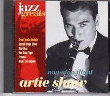 (CA145) Artie Shaw, Non-Stop Flight - 1996 Jazz Greats CD No 016