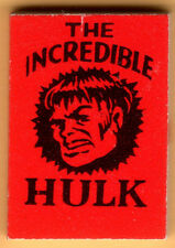 INCREDIBLE HULK Red MARVEL MINI BOOK Comic 1966 VENDING Gumball Prize MMMS CHP