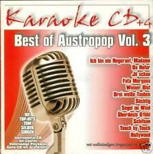 KARAOKE CD AUSTROPOP VOL. 3 (NEU) ÖSTERREICH/E.A.V