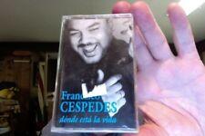 Francisco Cespedes- Donde Esta la Vida- new/sealed cassette tape
