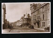 Scotland Perthshire CALLANDER Ancaster Arms Hotel Main St c1950s? RP PPC