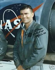 FRED HAISE SIGNED APOLLO 13 - 8x10 PHOTO - UACC & AFTAL RD ASTRONAUT AUTOGRAPH