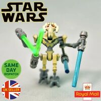 General Grievous Lego Mini Figure Star Wars Rise Skywalker Robot Saber Uk Seller