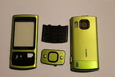 HOUSING COVER FACIA CASE + MIDDLE CHASSIS FOR NOKIA 6700 SLIDE GREEN