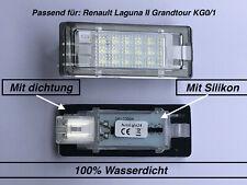 2x TOP LED SMD Kennzeichenbeleuchtung für Renault Laguna II Grandtour KG0/1 (504