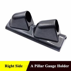 "52mm 2"" Racing Sport Auto Meter Gauge A Pillar Mount Holder Bracket Right Side"