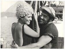 Photo de presse originale de Claudia Cardinale et Mario Adorf ( CAK )