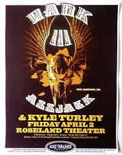 Hank Williams Iii 2010 Gig Poster Portland Oregon Concert
