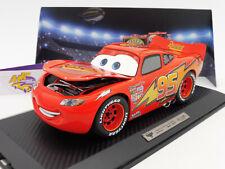 "TOPPREIS Schuco 00360 # Lightning McQueen Disney Pixar Car #95 "" Rust-eze "" 1:18"
