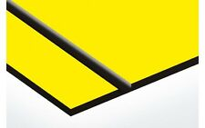 """Rotary Engraving Stock Sheets(Yellow/Blk) Duets by Gemini  1/16"""" Thick 10 Sheets"""