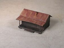 Z Scale Ozark Hill Billie Cabins weathered, part # 34253