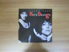 Liane Foly – Reve Orange 1992 Korea Vinyl LP INSERT
