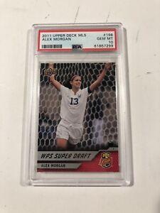 2011 Upper Deck MLS Alex Morgan RC WPS Superdraft Gem Mint PSA 10