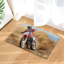Door Mat Bathroom Rug Bedtoom Carpet Bath Mats Rug Non-Slip Motorcycle