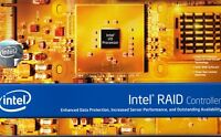 "INTEL SRCS28X 8 PORT SAS/SATA 3GB/S PCI-X RAID CONTROLLER CARD - ""NEW"""