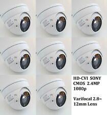 3PCS 4 IN 1 HD-CVI 1080P 2.4MP Motorized Zoom Auto Focus 2.8-12 VF  Camera  Gray