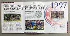 FC Bayern München und die Deutsche Fussballmeisterschaft 1997.