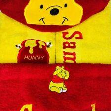 Winnie The Pooh Personalised Character Hooded Towels Beach/ Bath