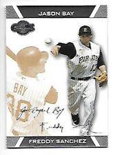 2007 Topps Co-Signers Gold #11B Freddy Sanchez/Jason Bay Serial #213/225 Pirates