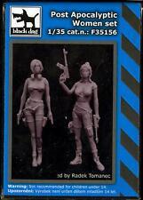 Blackdog Models 1/35 POST APOCALYPTIC WOMEN 2-Figure Resin Set