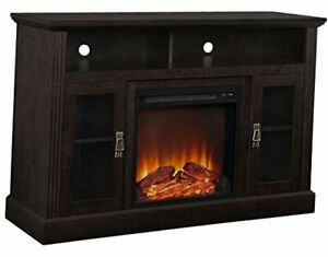 """Chicago Electric Fireplace TV Console for TVs up to a 50"""","""