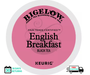 Bigelow English Breakfast Keurig Tea K-cups YOU PICK THE SIZE