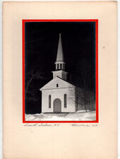 Midcentury Handmade Xmas Card w/Original Photo – South Salem New York