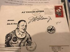 JOHN GLENN NASA Autograph