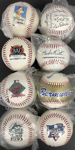 Baseball Lot of 8 Rawlings Fotoball Bermuda Rookie WS Assd Logos Yankees Marlins