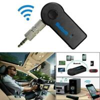 Wireless Bluetooth Receiver 3.5mm AUX Audio Stereo Car Adapter Music L8E3 E2U1