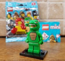 Lego Minifigures Series 5 Lizard Suit Guy Aligator Man minifig