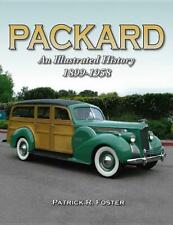 Packard: An Illustrated History 1899-1958~Detailed Book~Various Models~New