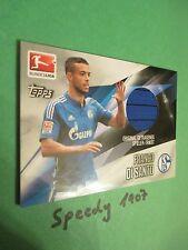 Topps Bundesliga Chrome 2016 Trikot Karte Di Santo Schalke Jersey Trikotkarte
