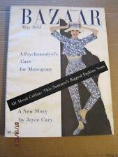 May 1957 HARPER'S BAZAAR ~ Audrey Hepburn cover by Avedon ~Warhol shoes~186pgs