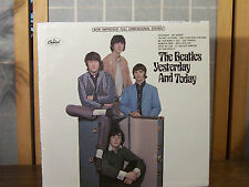 """VINTAGE THE  BEATLES LP """"YESTERDAY & TODAY"""" SEALED!  APPX 3.5"""" OPENING AT MOUTH!"""