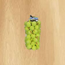 Tourna Pressureless Tennis Balls 60 count Yellow With Bag Regular Duty
