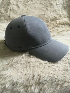 Ted Baker Brayfud Plain Cap (grey/blue)