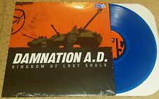 DAMNATION A.D - Kingdom Of Lost Souls LP BLUE WAX (SEALED) BLACK FRIDAY SXE NYHC