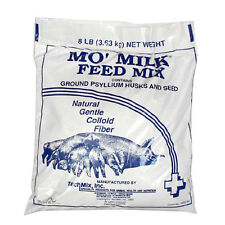 Tech Mix Mo' Milk Feed Mix Ground Psyllium Husks & Seeds Gilts Sows 8lbs.